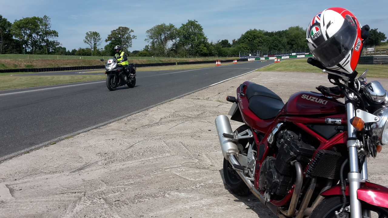 Motorbike test in Solihull