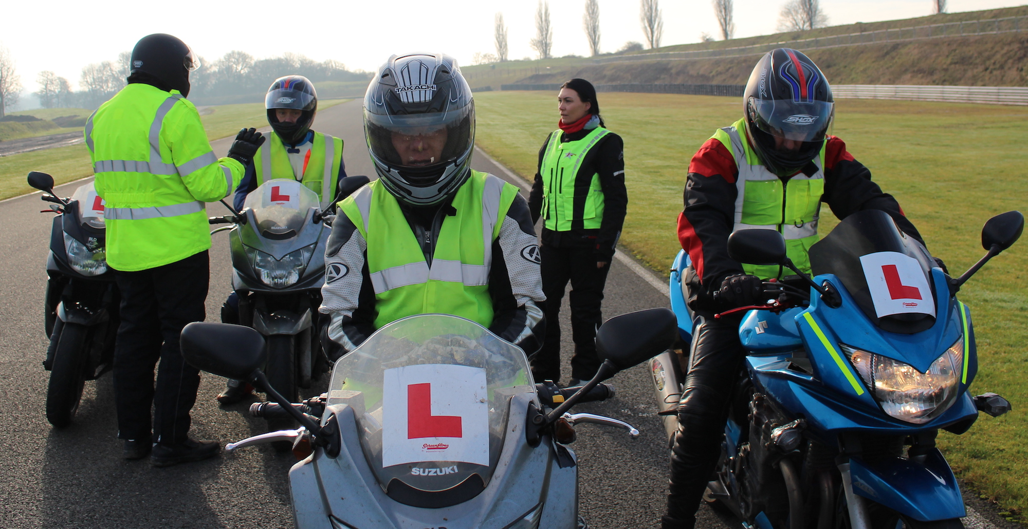 Motorcycle training Leicester