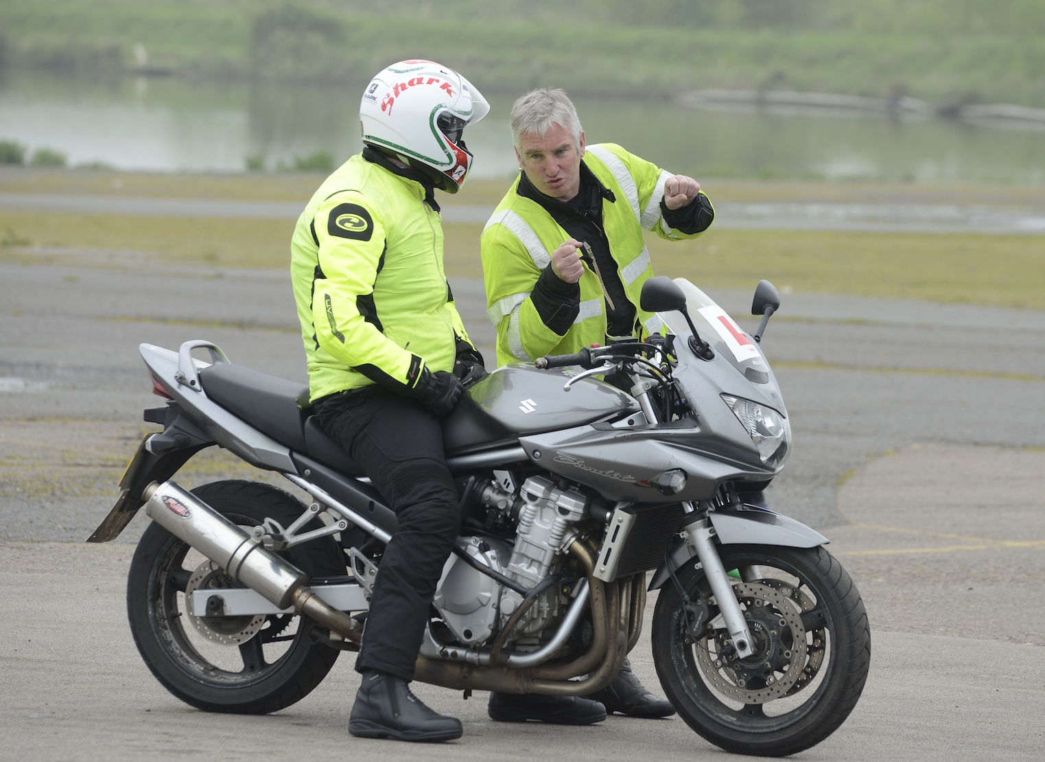 Motorcycle lessons CBT, Direct Access, Advanced cornering in Leicester, Hinckley, Derby, Nottingham, Birmingham, St Albans, Lincoln, St Neots, Camberley, Epsom, Kensington, Chelsea, Dagenham, Canvey Island, Chichester, Cirencester, Bristol, Bath, Cheltenham, Kettering, Kidderminster