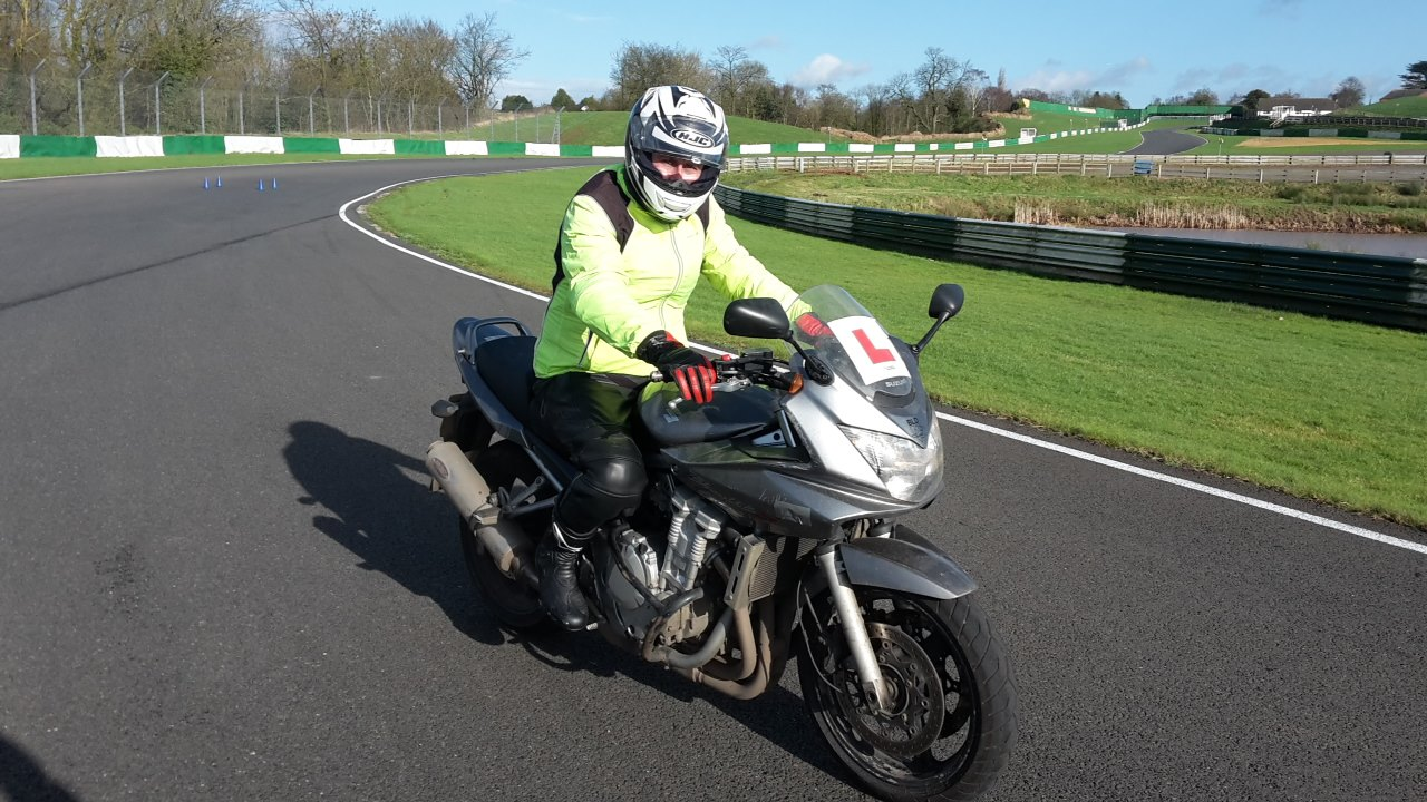 Motorbike test in Watford, Aylesbury and Cambridge