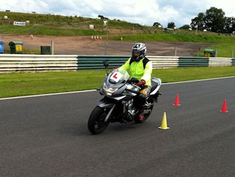 Motorbike test DVSA approved