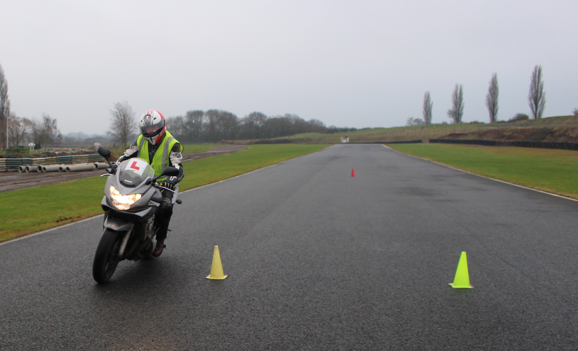 Intensive motorcycle training London