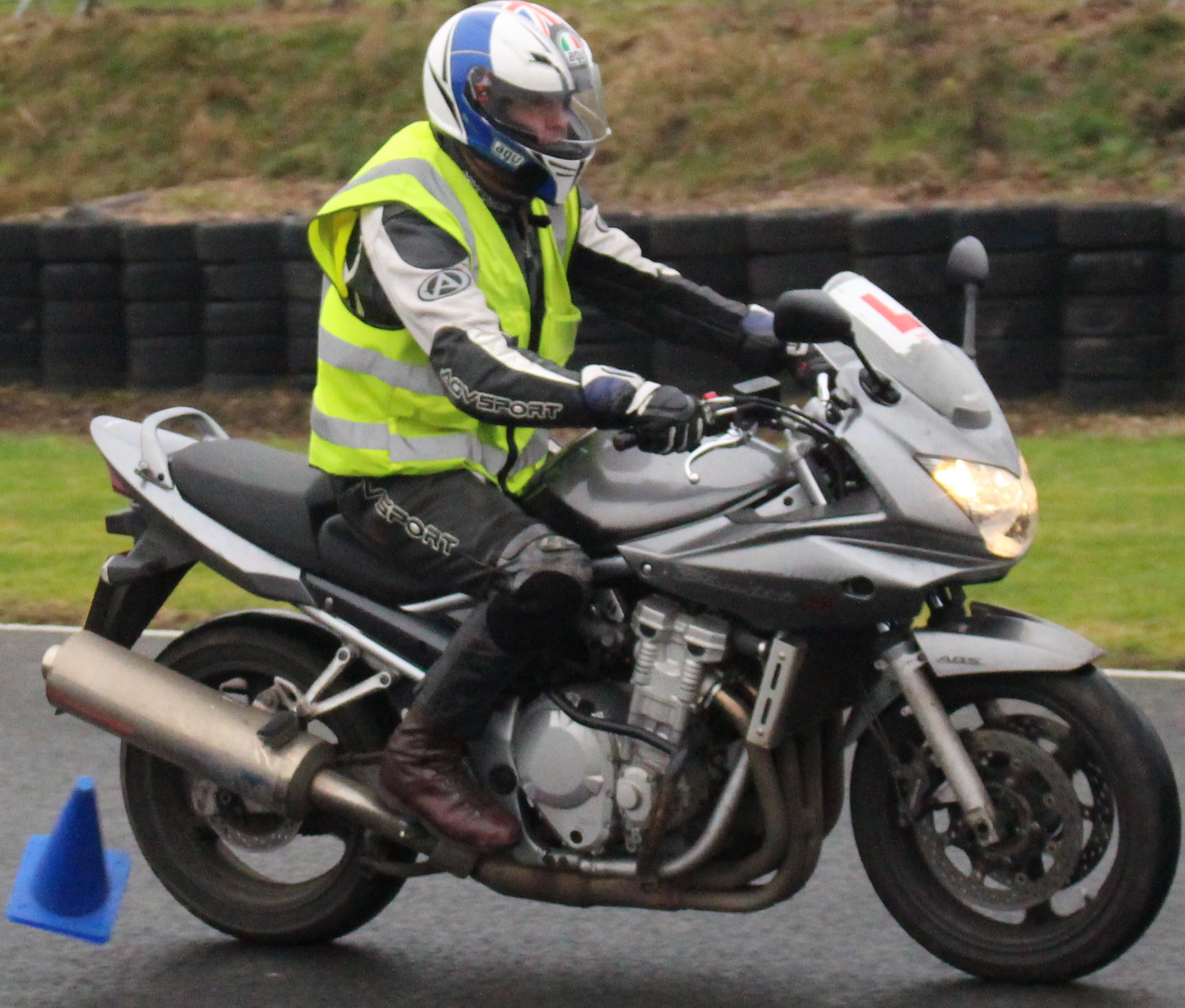 Motorcycle test Shires