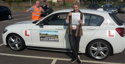 Driving test in one week Leicester, Coventry, Nottingham, Ashby, Oxford