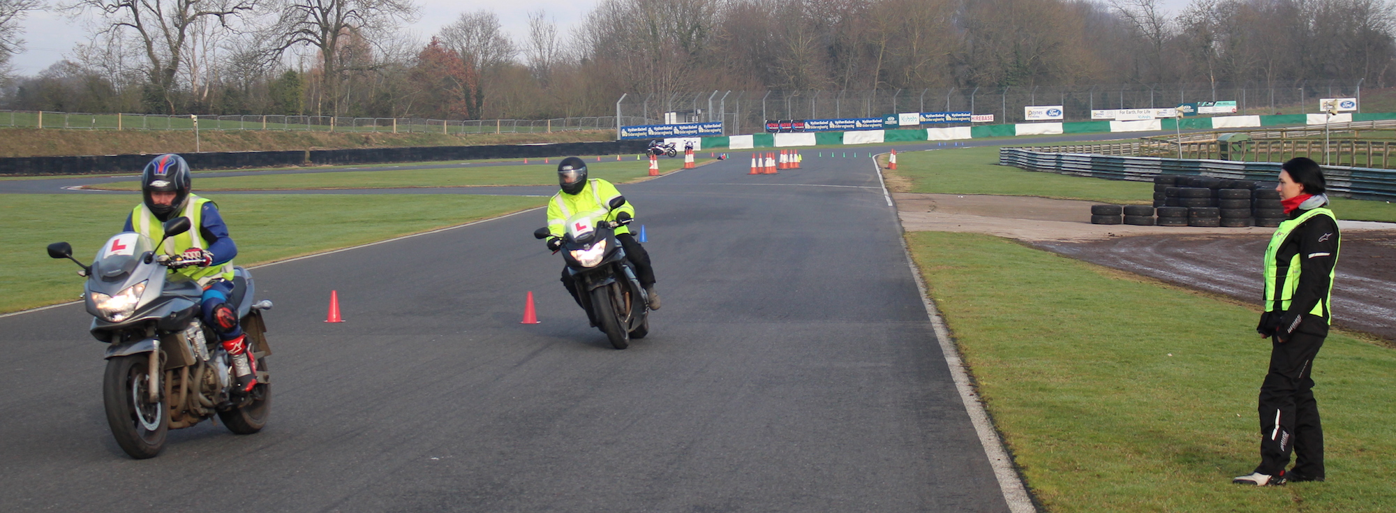 Motorcycle training in Leicester