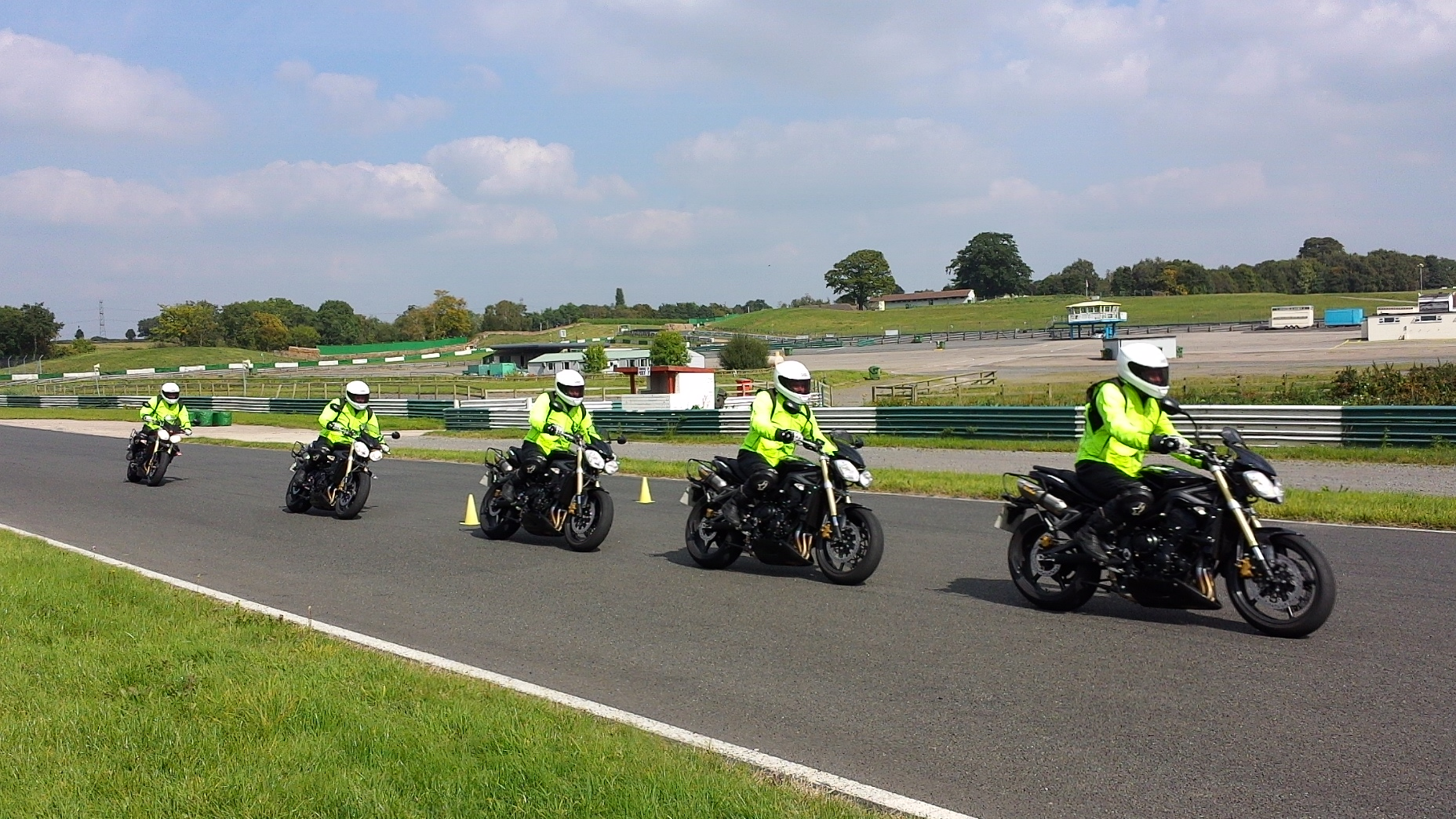 Motorcycle test in Leicester, Hinckley, Derby, Nottingham, Birmingham, St Albans, Lincoln