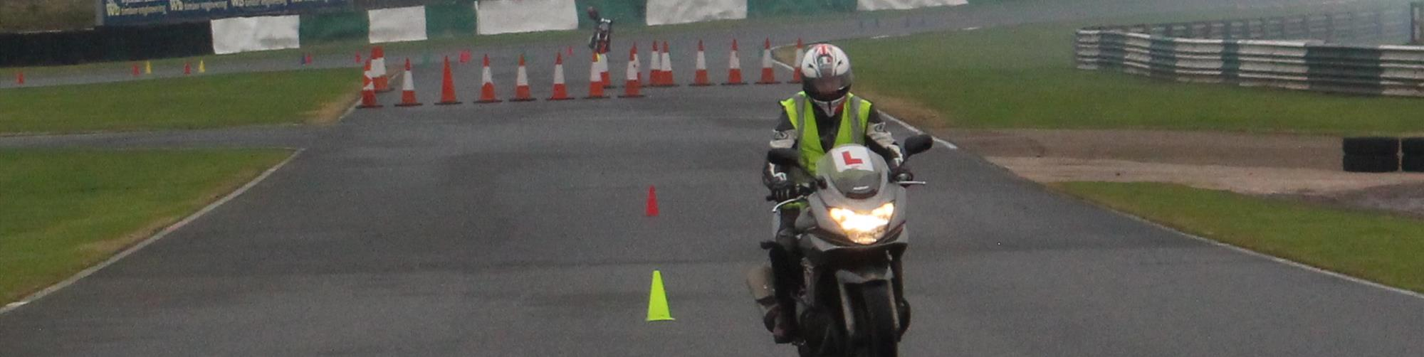 DVSA Motorcycle test