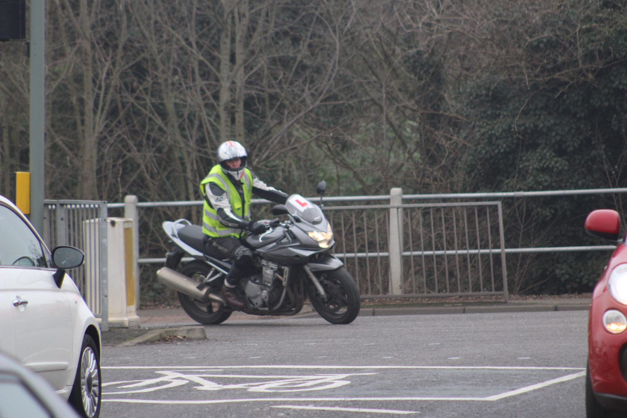 Motorbike test in Sutton Coldfield, Solihull