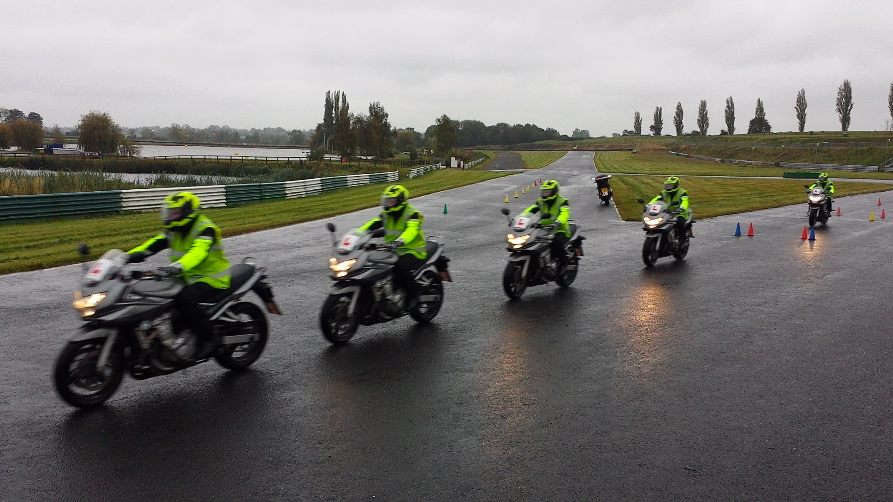 Motorcycle test in London, Coventry, Milton Keynes Leicester Desford Kirkby Mallory Melton Mowbray Grantham