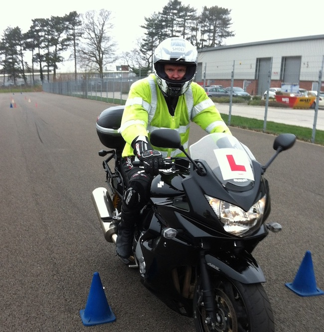 Motorcycle lessons in Leicester, Hinckley, Derby, Nottingham, Birmingham