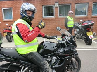 CBT Direct access Motorcycle Training in Leicester, Swadlincote, Burton on Trent, Ashby De La Zouch, Melton Mowbray, Birmingham