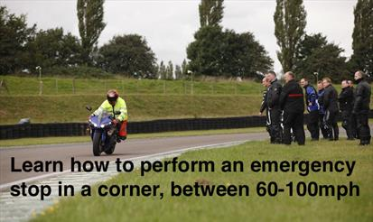 Motorcycle training in Milton Keynes to Leicester