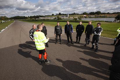 Advanced Motorcycle Training on Track