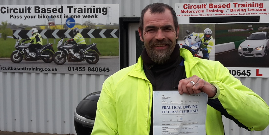motorcycle test Milton Keynes, Aylesbury, Birmingham and Oxford