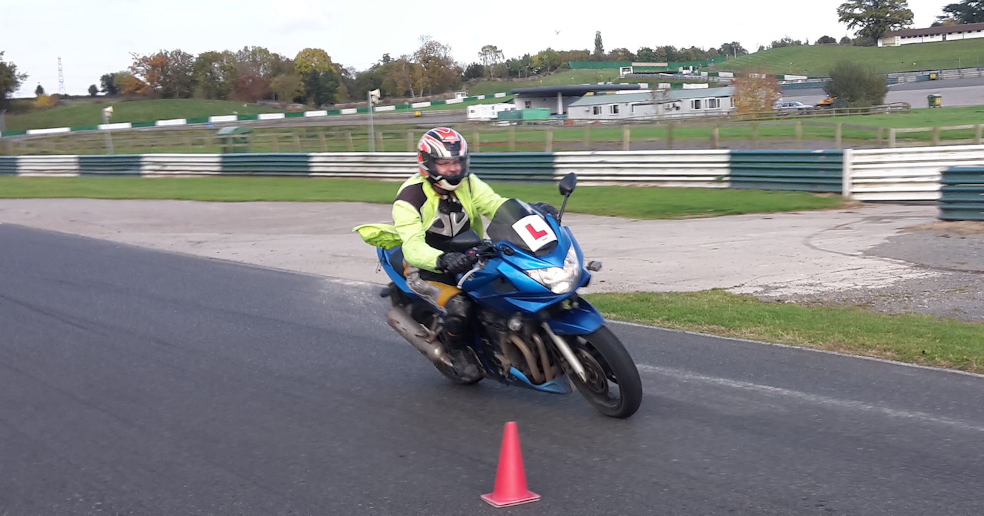Motorbike test in Boston, Lincoln, Grantham