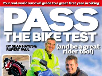 Pass the Bike Test book, by Sean Hayes & Rupert Paul
